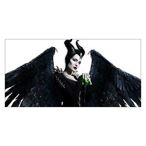 Maleficent. Размер: 60 х 30 см